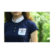 Polo JULIA junior marine Le Sabotier