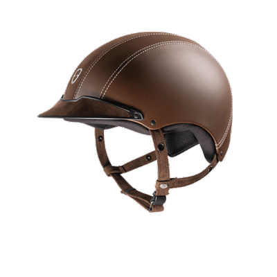 Casque EPONA Alcantara marron