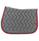Tapis Silver Crown gris/rouge
